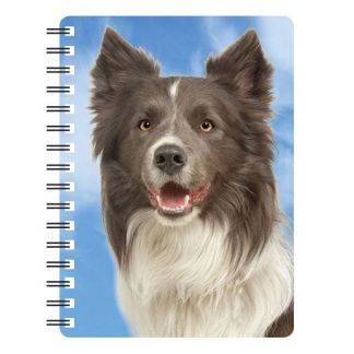 030717116324 3D Notebook Border Collie 3 NB083