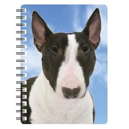 030717118243 3D Notebook English Bull Terrier Brindle NB142
