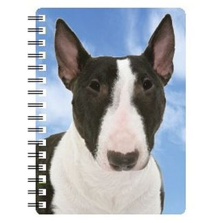 030717118243 3D Notebook English Bull Terrier Brindle NB142