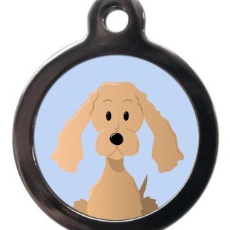 Cocker Spaniel BR18 Dog Breed ID Tag