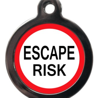 Escape Risk ME43 Medic Alert Dog ID Tag