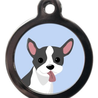 French Bulldog BR20 Dog Breed ID Tag