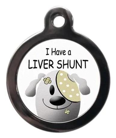 Liver Shunt ME36 Medic Alert Dog ID Tag