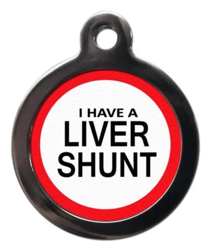 Liver Shunt ME37 Medic Alert Dog ID Tag