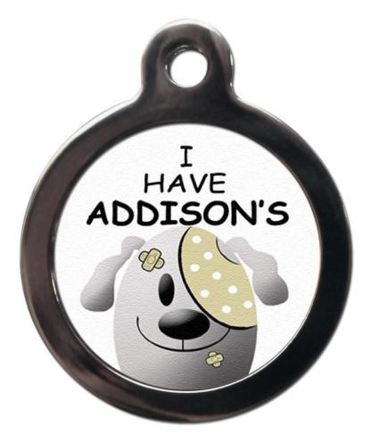 Addison's ME35 Medic Alert Dog ID Tag