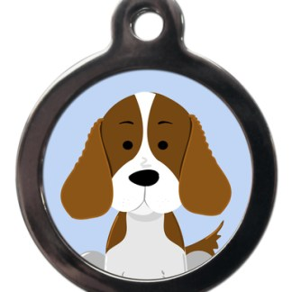 Springer Spaniel BR12 Dog Breed ID Tag