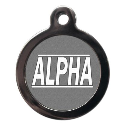 Alpha CO23 Comic Dog ID Tag