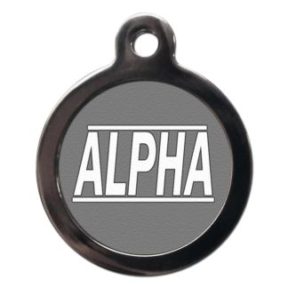 Alpha CO23 Comic Dog ID Tag