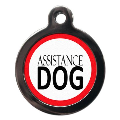 Assistance Dog ME7 Dog ID Tag
