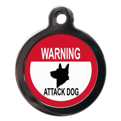 Attack Dog CO50 Comic Dog ID Tag