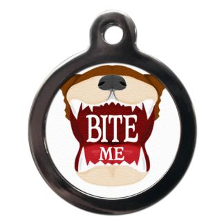 Bite Me CO11 Comic Dog ID Tag