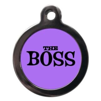 Boss CO81 Comic Dog ID Tag
