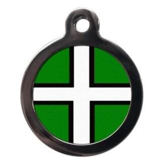 Devonian Flag FL27 Dog ID Tag