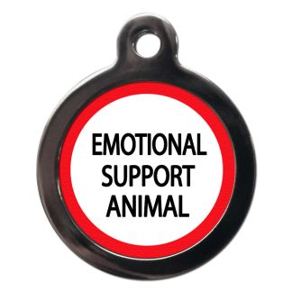 Emotional Support Animal ME67 Dog ID Tag