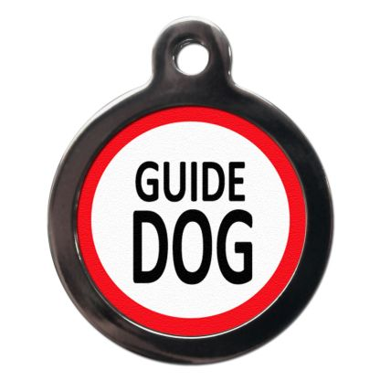 Guide Dog ME4 Dog ID Tag