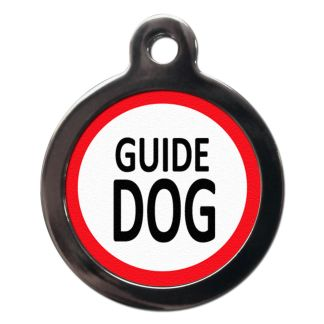 Guide Dog ME4 Dog ID Tag