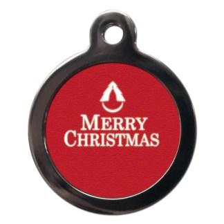 Merry Christmas FE14 Festive Christmas Dog ID Tag