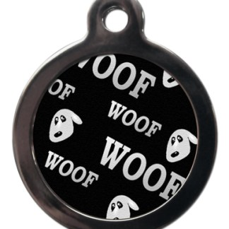 Woof PA19 Pattern Dog ID Tag