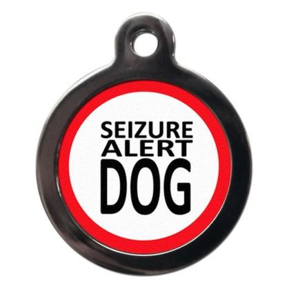 Seizure Alert Dog ME15 Dog ID Tag