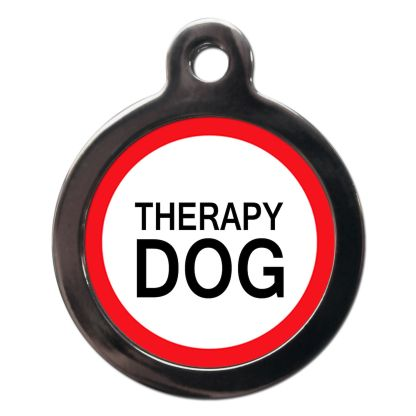 Therapy Dog ME53 Dog ID Tag