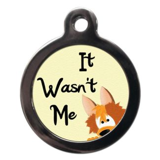 It Wasn't Me CO1 Comic Dog ID Tag