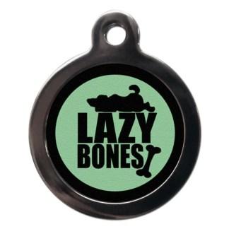 Lazy Bones CO65 Comic Dog ID Tag
