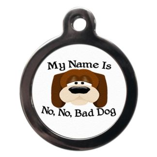 My Name Is CO8 Comic Dog ID Tag