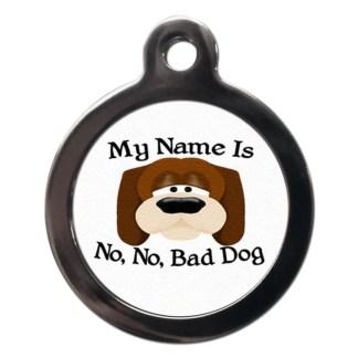 My Name Is CO8 Comic Dog ID Tag