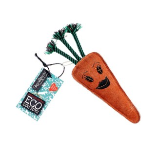 610696121042 Candice the Carrot Eco Dog Toy