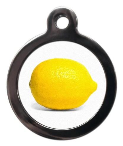 Lemon NA20 Nature Dog ID Tag