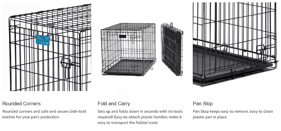 MidWest Life Stages Folding Metal Dog Crate Review 2019