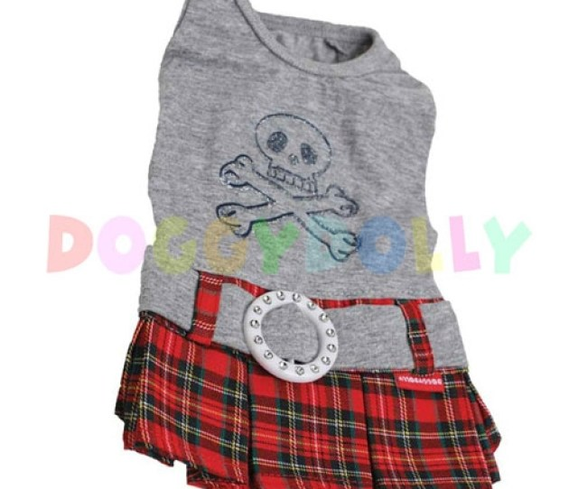 Grey Red Teens Outfit