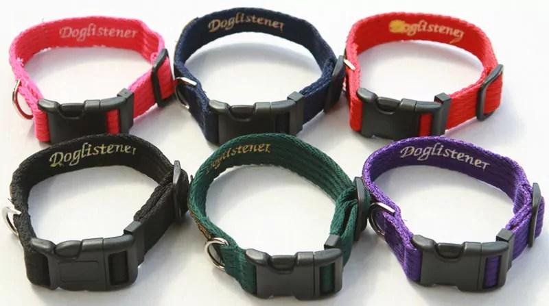 Doglistener Collars Range of Colours