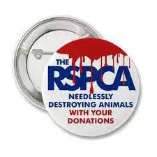 RSPCA Spoof Badge.