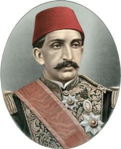 El sultán otomano Abdulhamid II