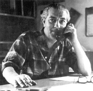 El investigador Ivan T. Sanderson