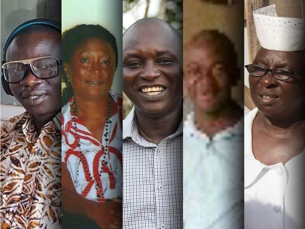 Los cinco investigadores fallecidos poco antes de publicar su trabajo en la revista Science