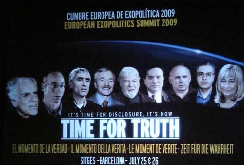Cartel promocional de Exopolitica 2009