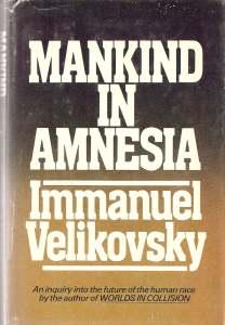 """Portada del libro """"Mankind in Amnesia"""""""