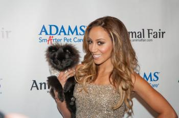 RHONJ Star Melissa Gorga Attends Animal Fair Paws for Style Event 1