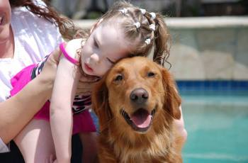 WATCH: Meet the Service Dog Who Is Teaching Disabled Children to Surf 2