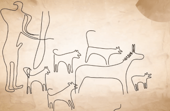 The World's Oldest Images of Dogs Have Been Found & Are They Wearing Leads? 3