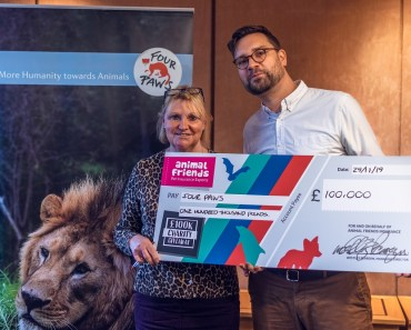 FOUR PAWS Win Animal Friends' 2019 £100k Charity Giveaway! 14