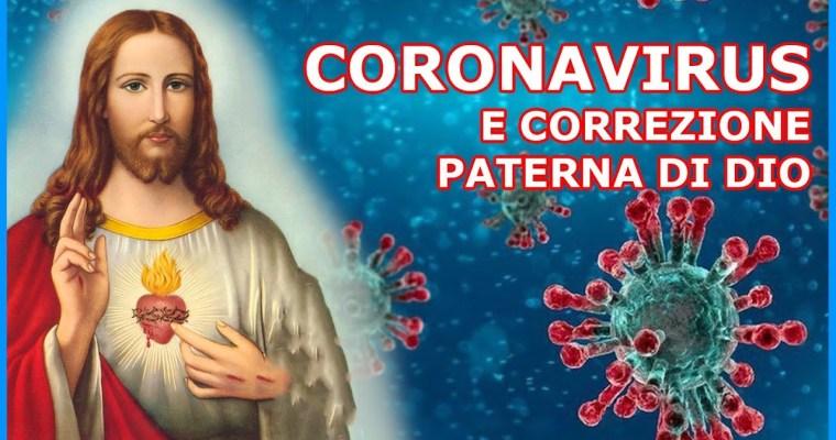 Coronavirus e Correzione Paterna di Dio