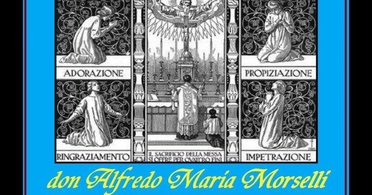 I quattro fini del Sacrificio Eucaristico