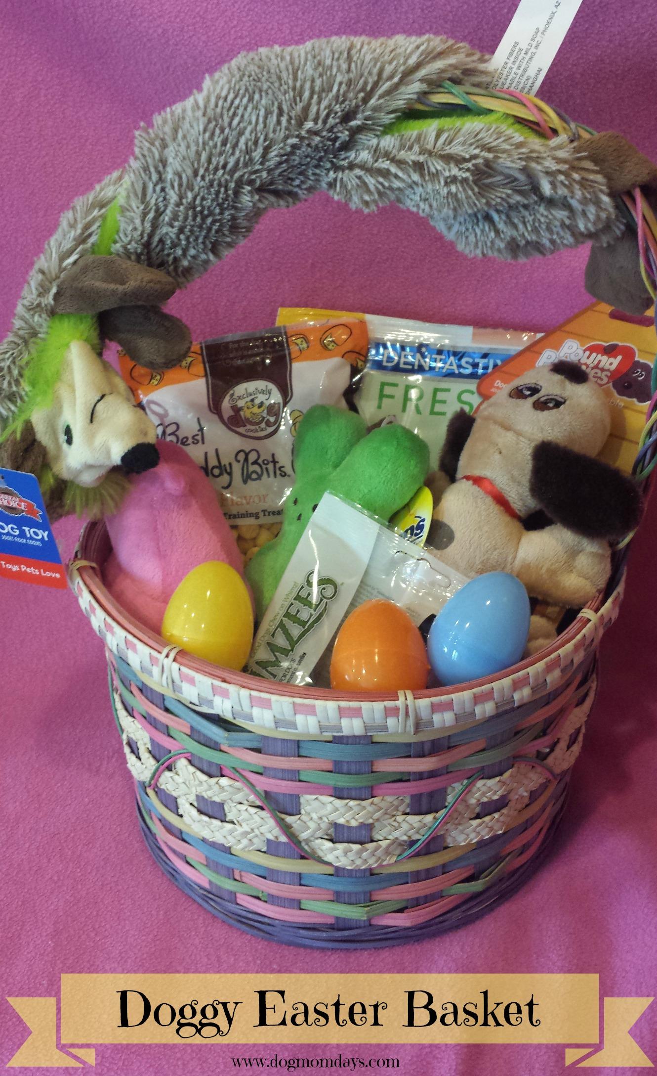 DIY Doggy Easter Basket  Dog Mom Days