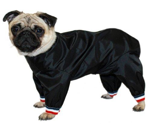 long sofa pet cover sew cushion covers cosipet 1/2 leg trouser suit, 14-inch/ 35 cm, black