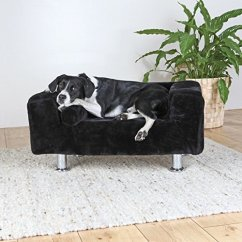Leather Pet Sofa Omnia Reviews Just Arrived, New Ultra Sleek Modern Trixie King Of Dogs ...