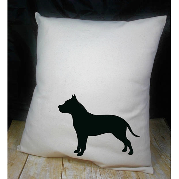 Pit Bull Heart Pillow Dog Park Publishing