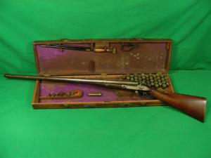 Parker Grade 1 10 gauge hammergun in original case